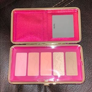 Tarte life of the party blush palette/clutch